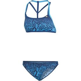 adidas Pro EBS Bikini de 2 piezas Mujer, shock cyan